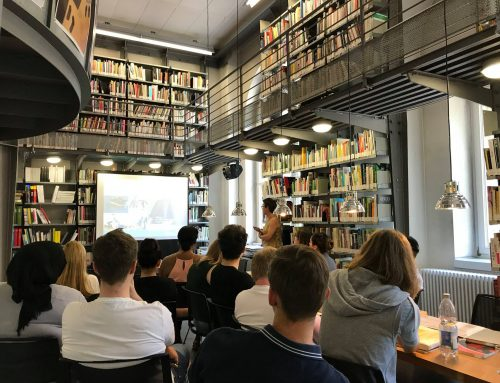 Zu Besuch in der Design Bibliothek
