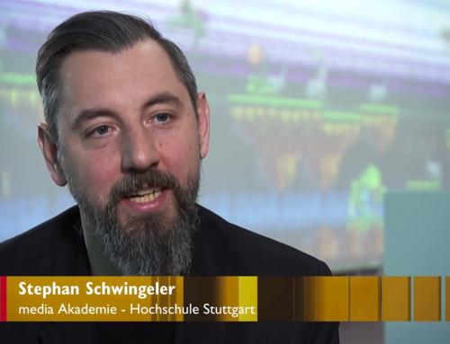 "Prof. Dr. Schwingeler beim 3sat-Kulturmagazin ""Kulturzeit"""