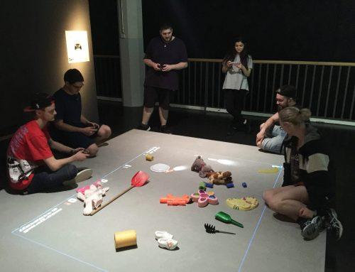 Studentisches Spielespaß im ZKM