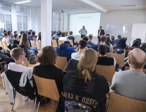 Semesterstart WiSe 2018/19 – mit Branchentalk