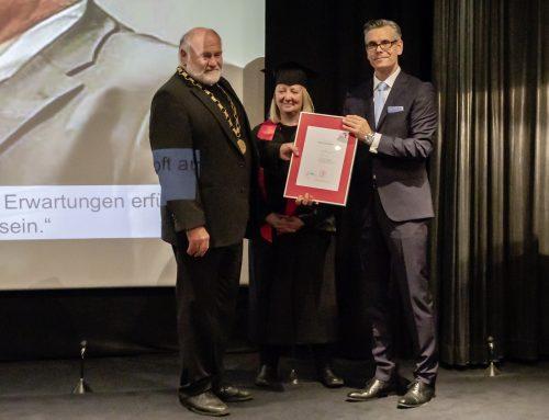 Rezzo Schlauch zum Ehrensenator der Hochschule ernannt