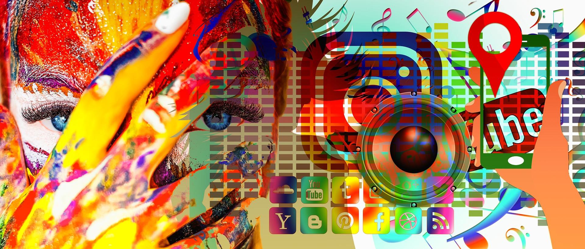 Social Media bunt