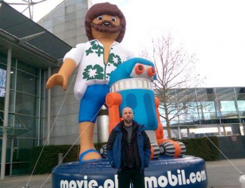 Wieder unterwegs: Prof. Wiemker auf der Spielwarenmesse Nürnberg