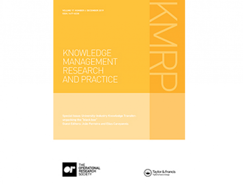 Coworking Spaces – Neue Publikation im Journal of Knowledge Management Research & Practice (KMRP)