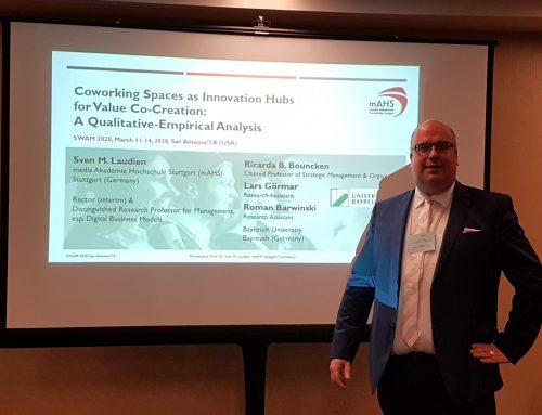 Beitragspräsentation auf der SWAM 2020 in San Antonio, Texas