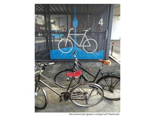 mAHSgeschneiderte Fahrradgarage für die Stuttgarter City